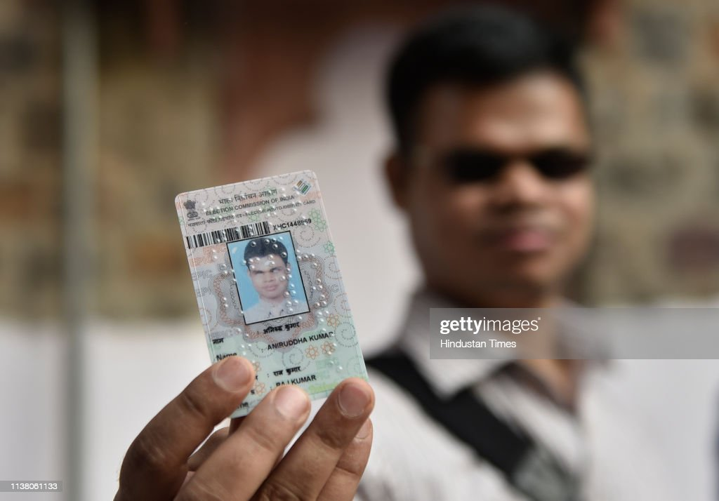 IND: Chief Election Commissioner Distributes Special Voter Id Cards In Braille