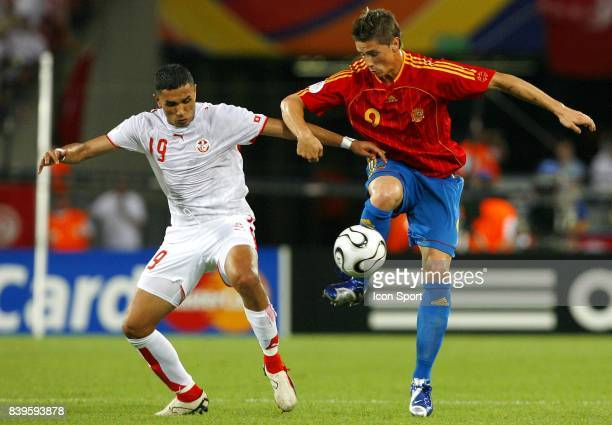 Anis AYARI / Fernando TORRES Espagne / Tunisie Coupe du Monde 2006