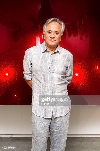 Anish Kapoor poses at the opening night of Anish Kapoor Exhibition on December 19 2012 in Sydney Australia