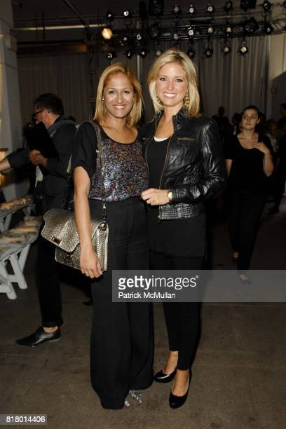 Anisha Lakhani and Ainsley Earhardt attend PARKCHOONMOO Spring/Summer 2011 Fashion Show at Exit Art on September 9 2010 in New York City