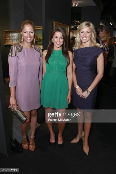 Anisha Lakhani Gigi Stone Ainsley Earhardt attend the AVENUE ANTIQUES ART AT THE ARMORY Celebrates With An Opening Night Preview on September 29 2010...