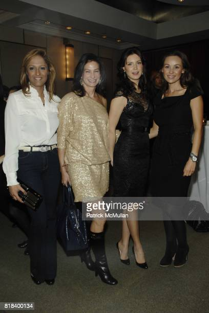Anisha Lakhani Susan Bond Dasha and Beata Bohman attend HSA's POWER OF MUZE Reception in Support of The United Nations at Le Parker Meridien on...