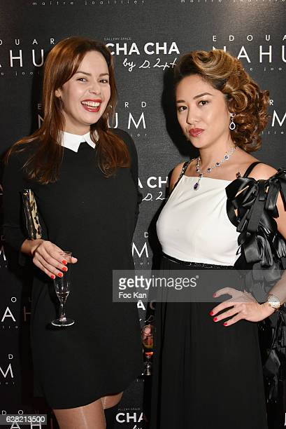 Anissa Bacha and Marjolaine BuiÊattend 'Black Whyte Party' by Edouard Nahum to celebrate his new Jewellery store in Aspen Colorado At VIP Room...