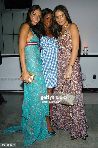 Anissa Bonnesont Genevieve Jones and Margherita Missoni attend Whitney Museum Contemporaries Host Annual Art Party and Auction to Benefit Whitney ISP...