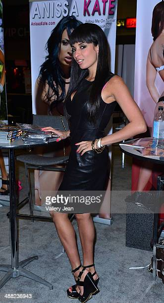 Anissa Kate attends Exxxotica 2014 at Broward County Convention Center on May 4 2014 in Fort Lauderdale Florida