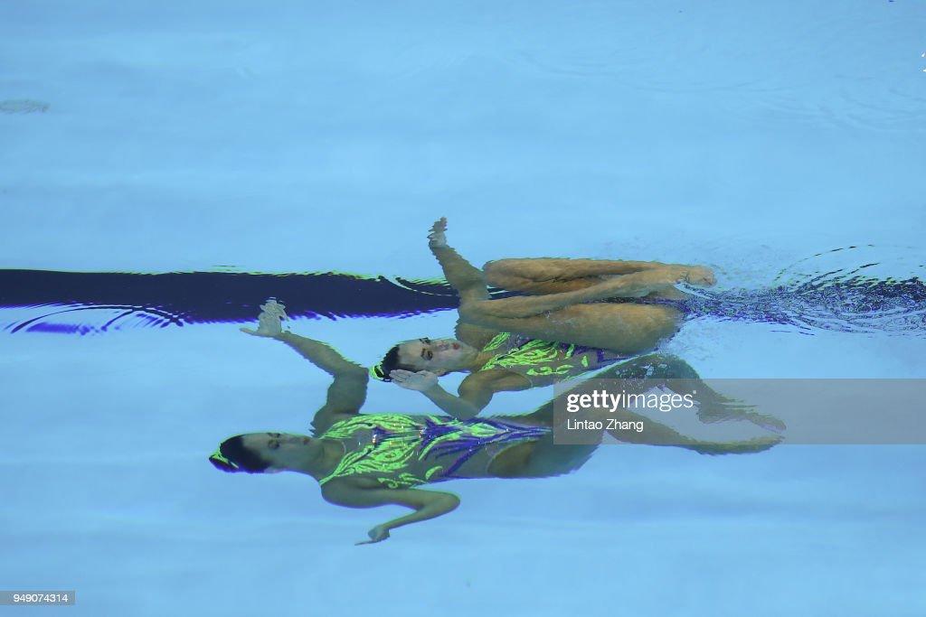 FINA Artistic Swimming World Series 2018 - Day 1