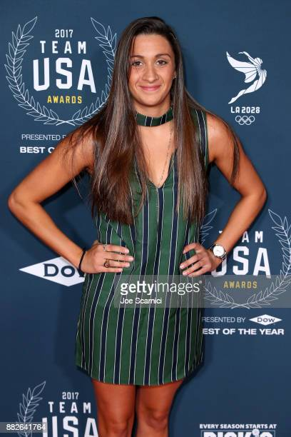 Anita Alvarez attends the 2017 Team USA Awards on November 29 2017 in Westwood California