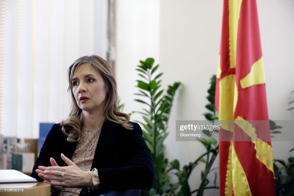 MKD: Macedonia Central Bank Governor Anita Angelovska Bezhoska
