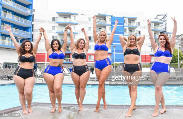 Anita Arabella S Ruby Ellana Bryan Laura Brioschi Amanda Collins and Ella Valera wear XeharStyle at Xehar Body Positive Mentors Host End Of The...