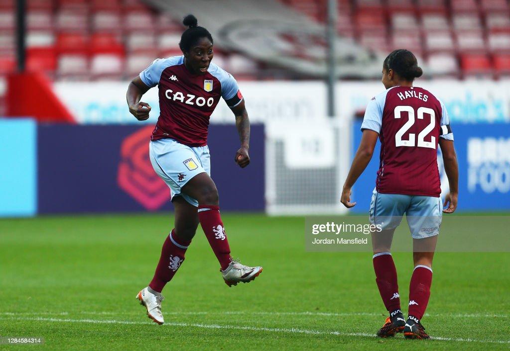 Brighton & Hove Albion Women v Aston Villa Women - Barclays FA Women's Super League : News Photo