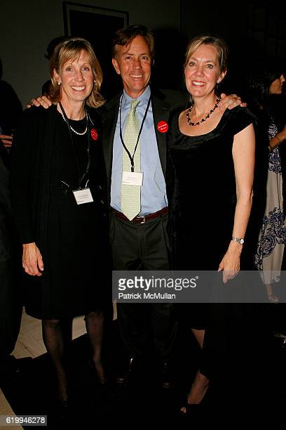 Anita Berenstein Ned Lamont and Linda Mason attend DONNA KARAN and THE URBAN ZEN FOUNDATION host a dinner for THE MERCY CORPS at Stephan Weiss Studio...