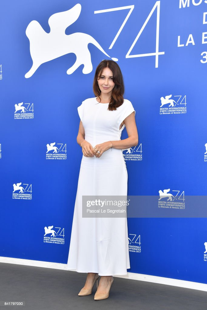 Anita Caprioli attends the 'Diva!' photocall during the 74th Venice Film Festival on September 2, 2017 in Venice, Italy.