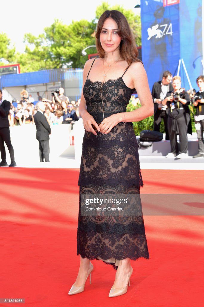 Anita Caprioli from the movie 'Diva!' walks the red carpet ahead of the 'Foxtrot' screening during the 74th Venice Film Festival at Sala Grande on September 2, 2017 in Venice, Italy.