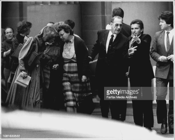 Anita Cobby's Parents outside court June 10 1987