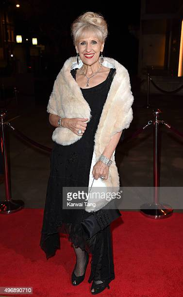 Anita Dobson attends the Park Theatre Annual Gala Dinner at Stoke Newington Town Hall on November 12 2015 in London England