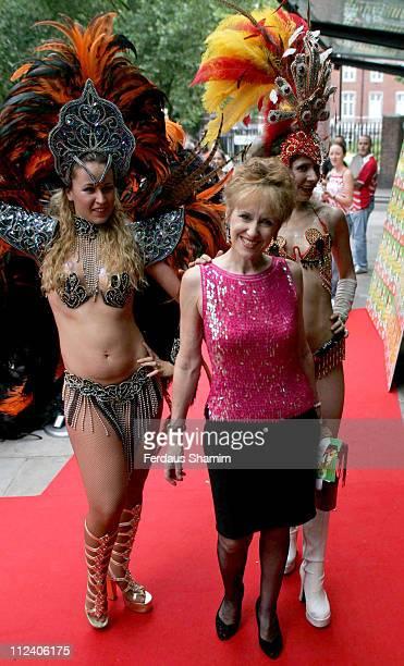 Anita Dobson during 'Brasil Brasileiro' London Premiere at Sadler's Wells Theatre in London Great Britain