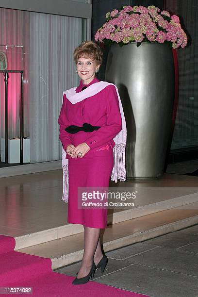 Anita Dobson during The LaurentPerrier Pink Party Arrivals at Sanderson Hotel in London Great Britain