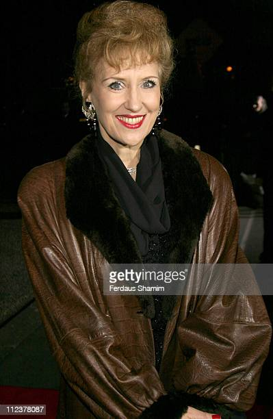 Anita Dobson during Variety Club Show Business Awards 2004 Arrivals at Park Lane Hilton in London Great Britain