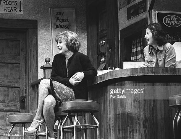 Anita Gillette and Ann Travolta during Bus Stop New York Play Opening at Westchester Playhouse in Tuckahoe New York United States