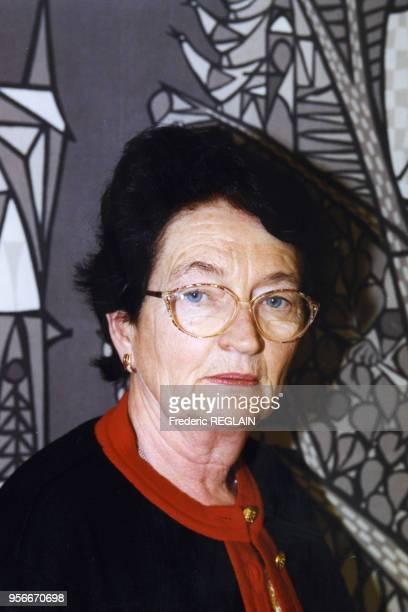 Anita Gradin Commissaire européen lutte contre le trafic des femmes de l'Est envoyées à l'etranger et réduites en esclavage octobre 1998 Bruxelles...