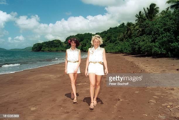Anita Hofmann Schwester Alexandra Hofmann Kreuzfahrt '1001 Nacht' Mayotte/Komoren/indischer Ozean Afrika Strand Landgang Volksmusik Gesangsduo Urlaub...