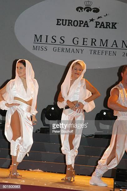 Anita Hofmann und Schwester Alexandra Hofmann 'Das große Miss GermanyTreffen' 'Hotel Colosseo' 'EuropaPark' Rust BadenWürttemberg Deutschland Europa...