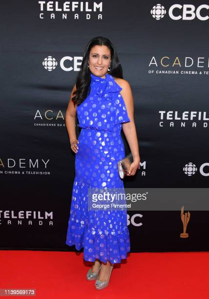 Anita McOuat attends the 2019 Canadian Screen Awards Broadcast Gala at Sony Centre for the Performing Arts on March 31 2019 in Toronto Canada