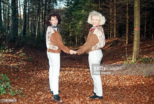 Anita mit Schwester Alexandra HofmannJungnau bei Sigmaringen