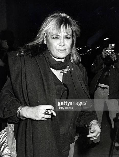 Anita Pallenberg during Anita Pallenberg at Berkshire Hotel in New York City November 13 1981 at Berkshire Hotel in New York City New York United...