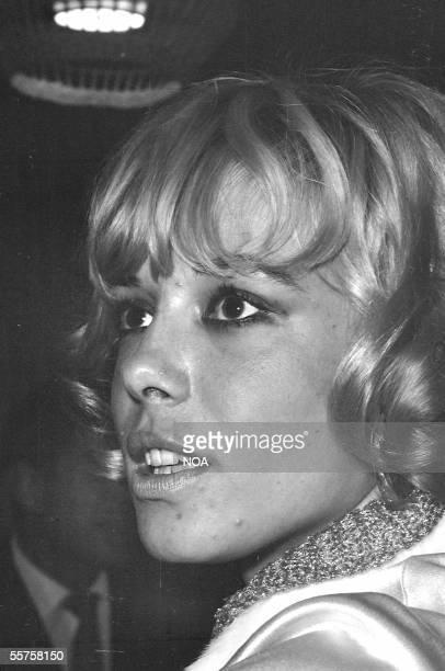 Anita Pallenberg German actress France 1967 HA1774