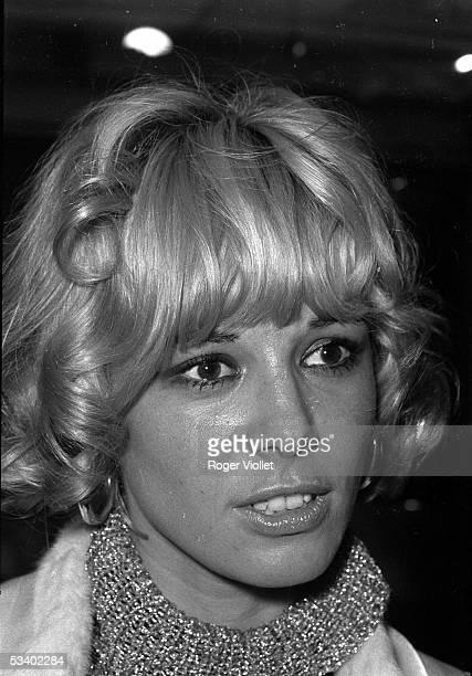 Anita Pallenberg German actress Paris 1967 HA159118