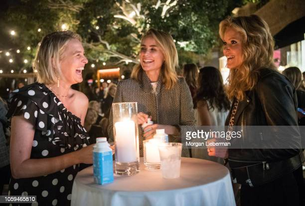 Anita Patrickson Anine Bing and Paige AdamsGeller cohost the She's The Boss Panel at Palisades Village on October 25 2018 in Pacific Palisades...