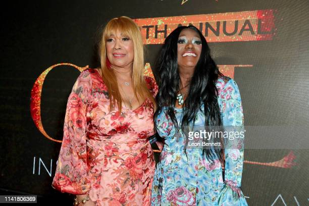 Anita Pointer and Bonnie Pointer of the Pointer Sisters attend The Hollywood Chamber Of Commerce 98th Annual Board Installation And Lifetime...