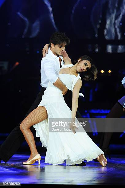 Anita Rani and Gleb Savchenko perform during the Strictly Come Dancing Live Tour rehearsals Strictly Come Dancing Live Tour opens tomorrow 22nd...