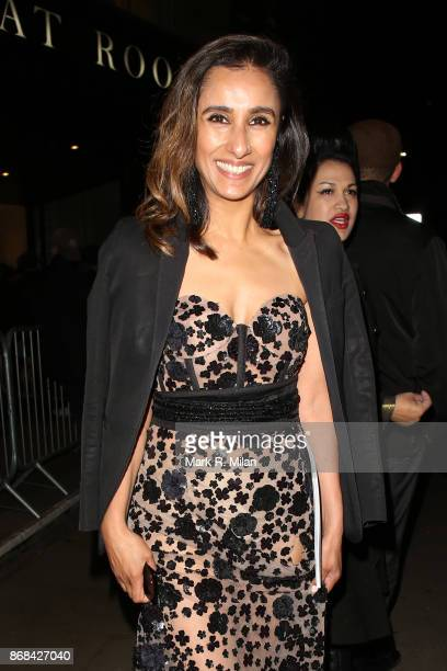 Anita Rani attending the Pride of Britain Awards on October 30 2017 in London England