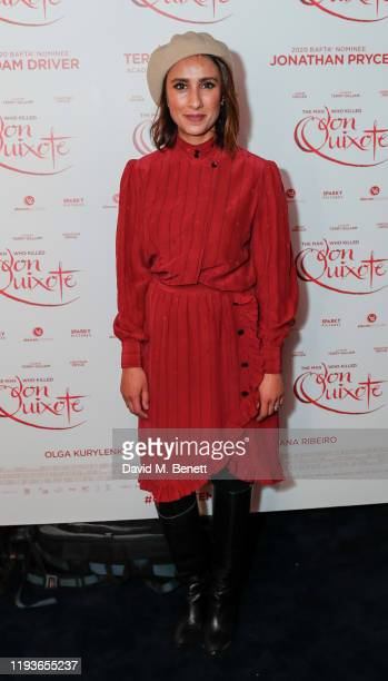 """Anita Rani attends a special screening of """"The Man Who Killed Don Quixote"""" at The Curzon Mayfair on January 14, 2020 in London, England."""