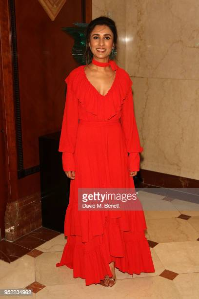 Anita Rani attends The 8th Annual Asian Awards at The London Hilton on April 27 2018 in London England
