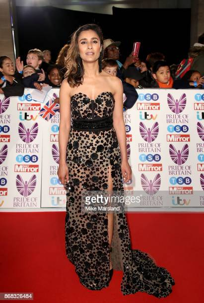 Anita Rani attends the Pride Of Britain Awards at Grosvenor House on October 30 2017 in London England