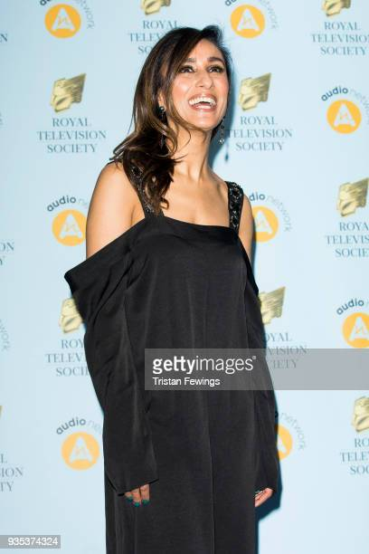 Anita Rani attends the RTS Programme Awards held at The Grosvenor House Hotel on March 20 2018 in London England