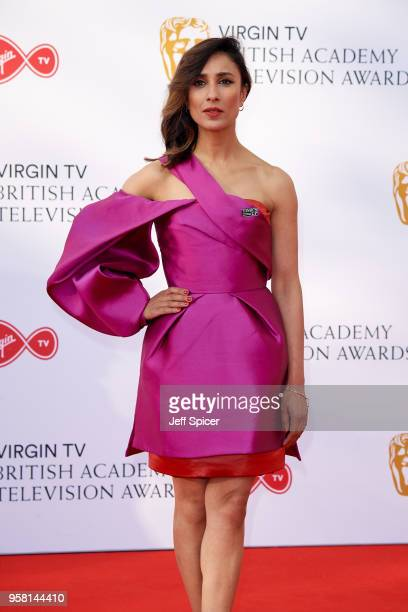 Anita Rani attends the Virgin TV British Academy Television Awards at The Royal Festival Hall on May 13 2018 in London England