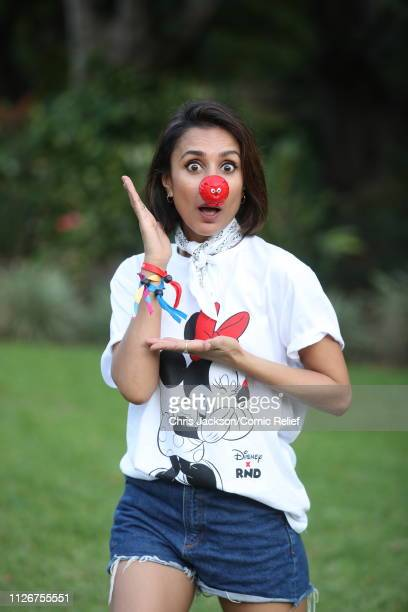 Anita Rani poses for a photo ahead of 'Kilimanjaro The Return' for Red Nose Day on February 22 2019 in Arusha Tanzania all to raise funds for Comic...