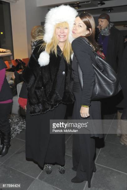Anita Sarko and Sally Randall attend 8TH ANNUAL BoCONCEPT/KOLDESIGN HOLIDAY PARTY at BoConcept on December 14 2010 in New York City