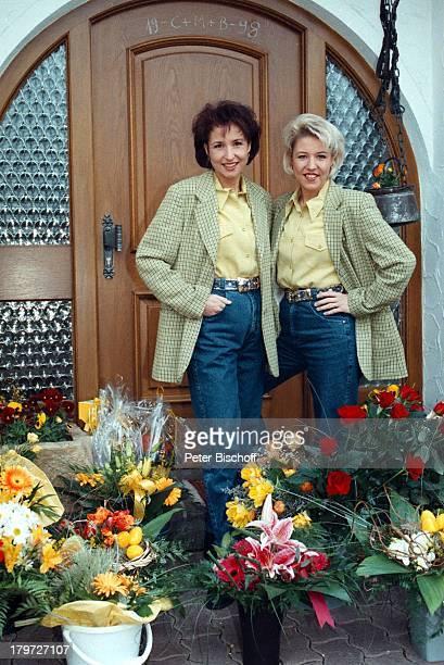 Anita und Alexandra Hofmann HomestoryMeßkirch BlumenGeschwister Hofmann