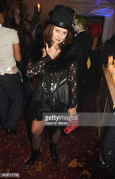 Anita Zabludowicz attends Halloween at Annabel's at 46 Berkeley Square on October 29 2016 in London England