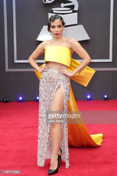 Anitta attends the 20th annual Latin GRAMMY Awards at MGM Grand Garden Arena on November 14 2019 in Las Vegas Nevada