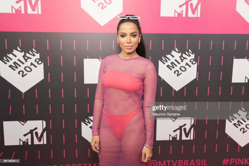 Anitta attends the MTV MIAW 2018 at Citibank Hall on May 23, 2018 in Sao Paulo, Brazil.
