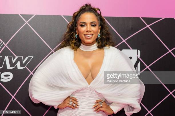 Anitta attends the MTV MIAW 2019 at Credicard Hall on July 3 2019 in Sao Paulo Brazil