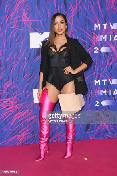 Anitta attends the MTV MIAW Awards 2017 at Palacio de Los Deportes on June 3 2017 in Mexico City Mexico