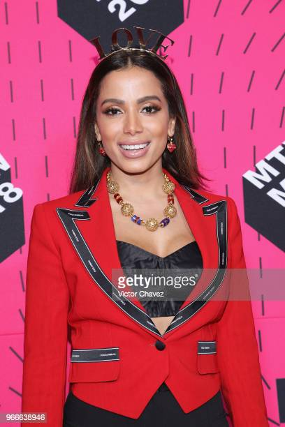Anitta attends the MTV MIAW Awards 2018 at Arena Ciudad de Mexico on June 2 2018 in Mexico City Mexico