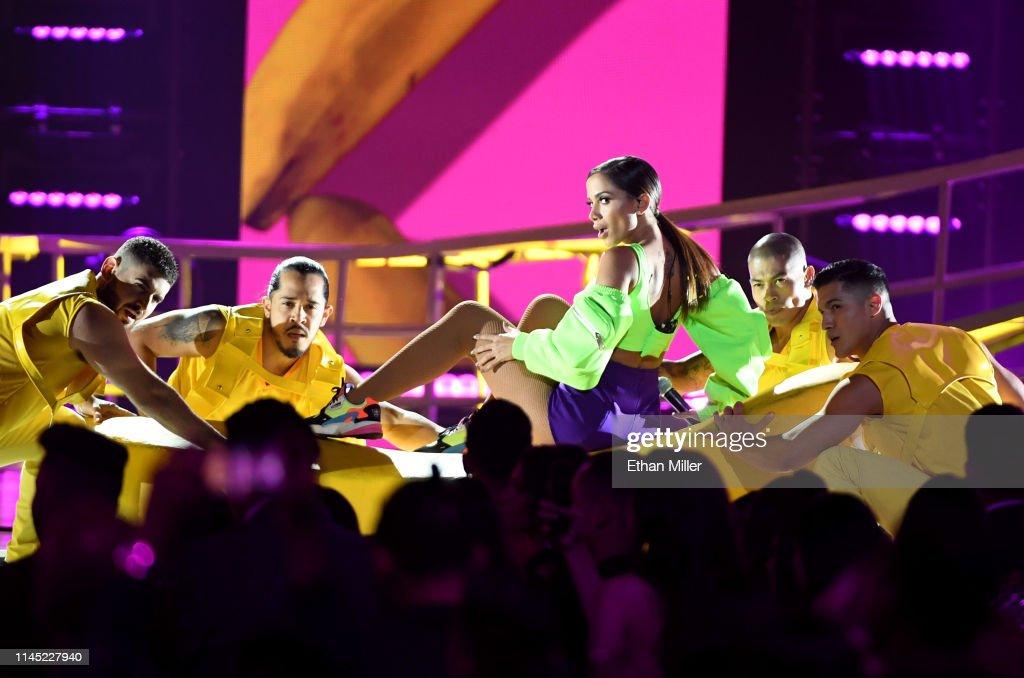 Anitta performs during the 2019 Billboard Latin Music Awards